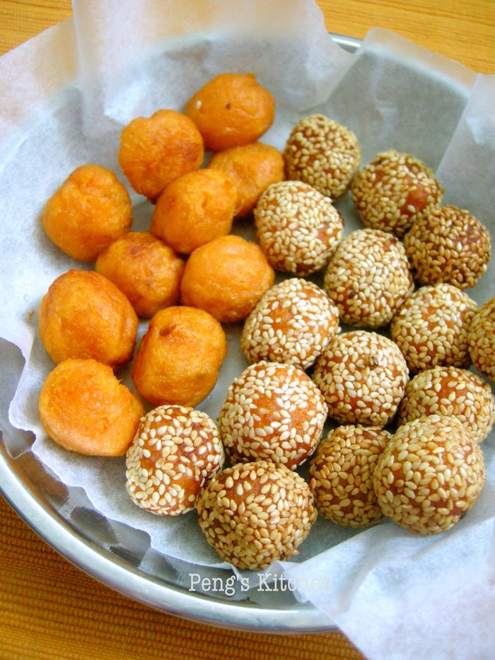 Peng's Kitchen: Fried Sweet Potato Balls