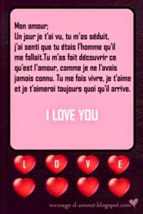 Juillet 2014 message d 39 amour - Lettre saint valentin pour son cheri ...