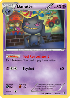 Banette Roaring Skies Pokemon Card