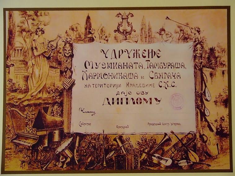diploma udruženja