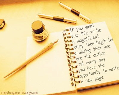 Heartful Art Online: Write your own story, Be your own hero ... magnet ...
