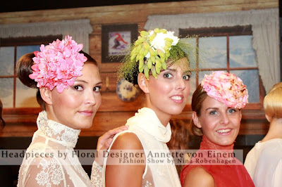 платья и аксессуары из цветов