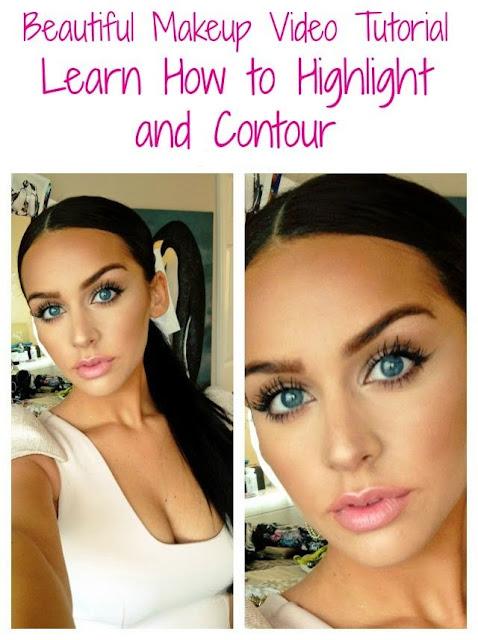 Beautiful Makeup Tutorial - How to Highlight and contour