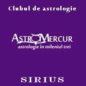Clubul de astrologie SIRIUS - la Iasi