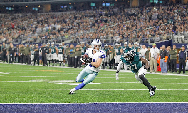 Cole Beasley Dallas Cowboys Philadelphie Eagles