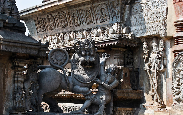 Hoysala Emblem at the doors