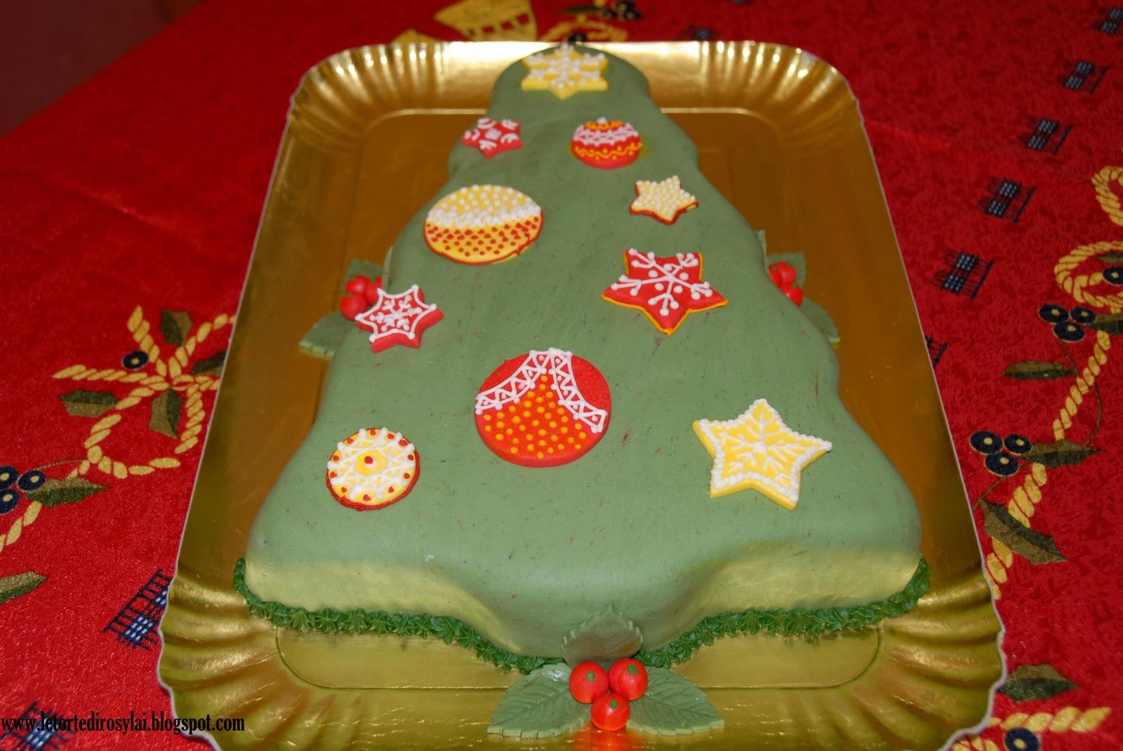 Decorazioni Torte Albero Di Natale
