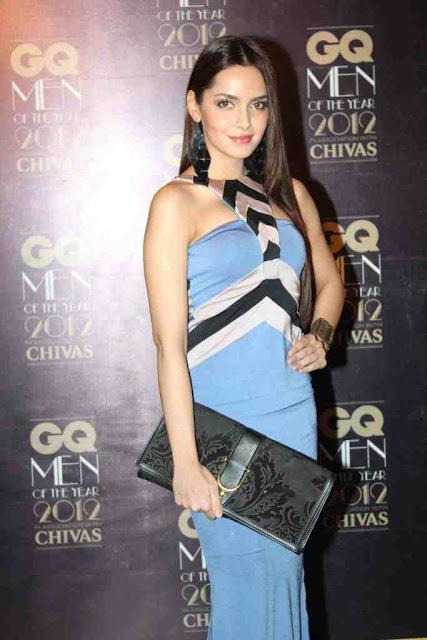 Shazahn padamsee at GQ Men Of The Year 2012 Awards