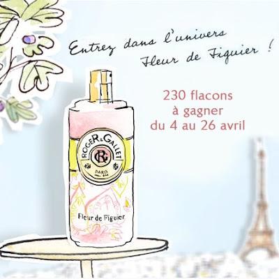 230 flacons Fleur de Figuier Roger&Gallet
