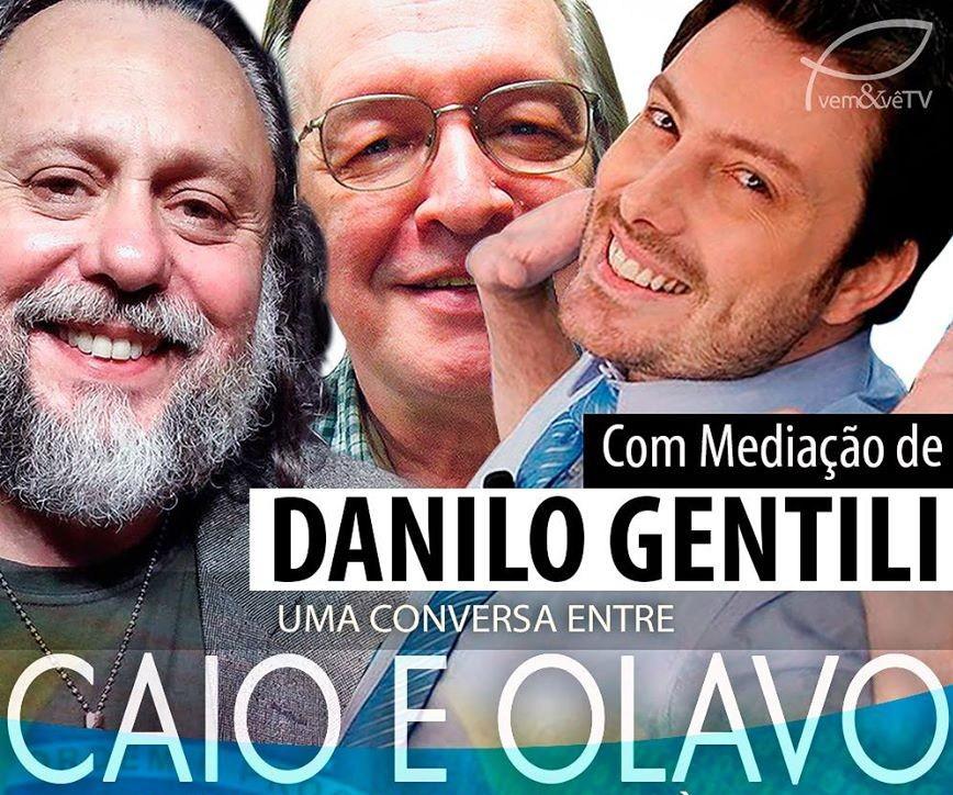 caio fabio e Olavo de Carvalho