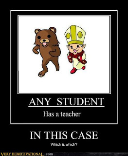 Tout élève a un maître (démotivation)