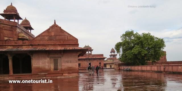 jodhabai mahal , fatehpur sikri , history and facts ,जोधाबाई महल , फतेहपुर सीकरी