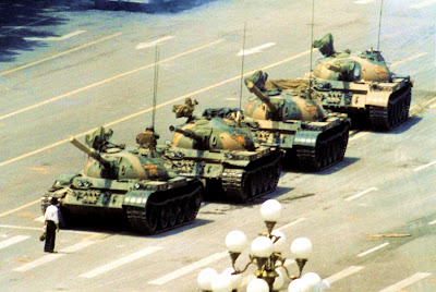 Tiananmen Square Tank Man protests