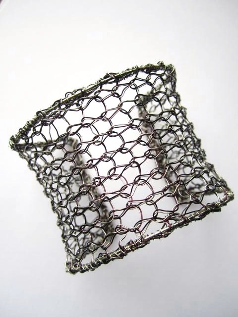 Wildflower Designs: My Creative Space ... Wire Knitting