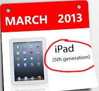 iPad 5 iPad Mini Maret