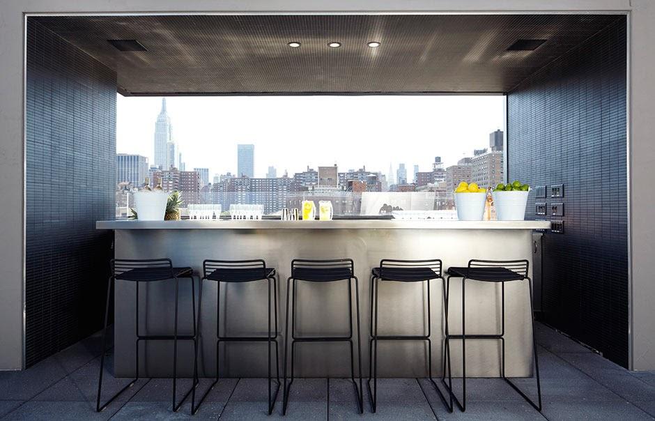 H tel americano chelsea for Hotel americano new york