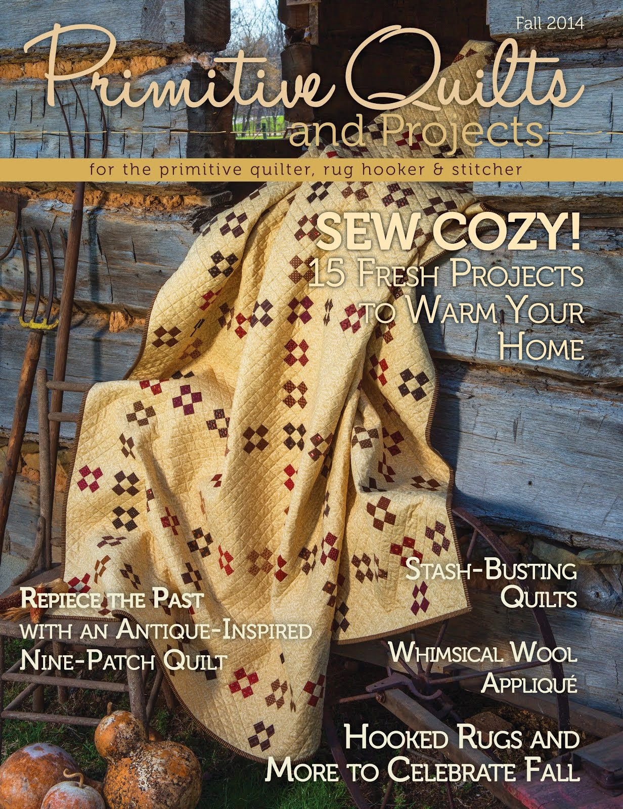 Primitive Quilts & Projects -Fall Issue