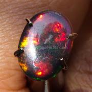 Batu Permata Black opal Kalimaya - SP734