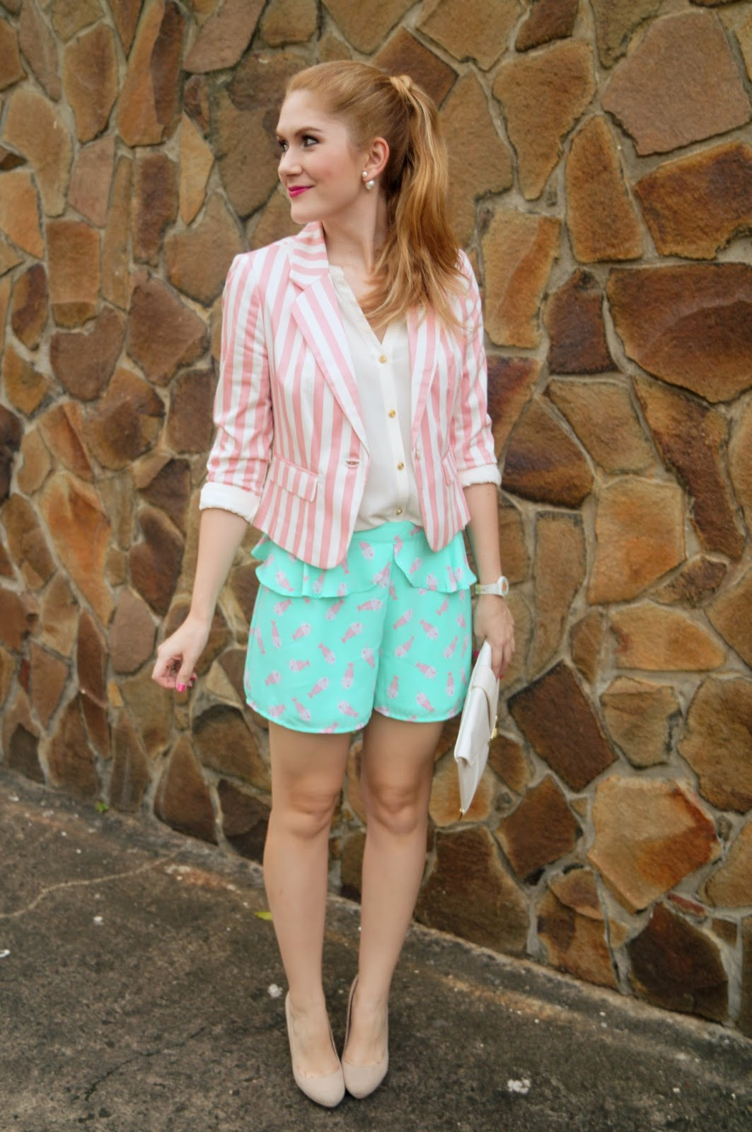 Girly Outfit, Forever 21 Blazer