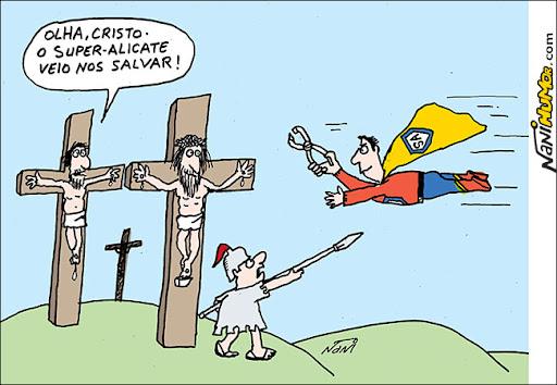 Se houvesse super heróis nos tempos de Cristo...
