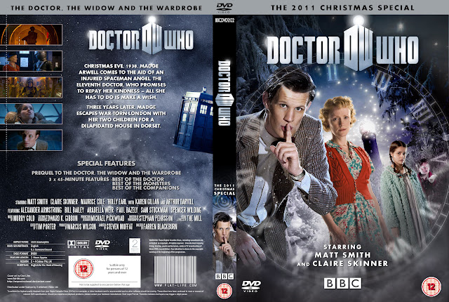 Capa DVD Doctor Who The Doctor, The Window And The Wardrobe The 2011 Christmas Special