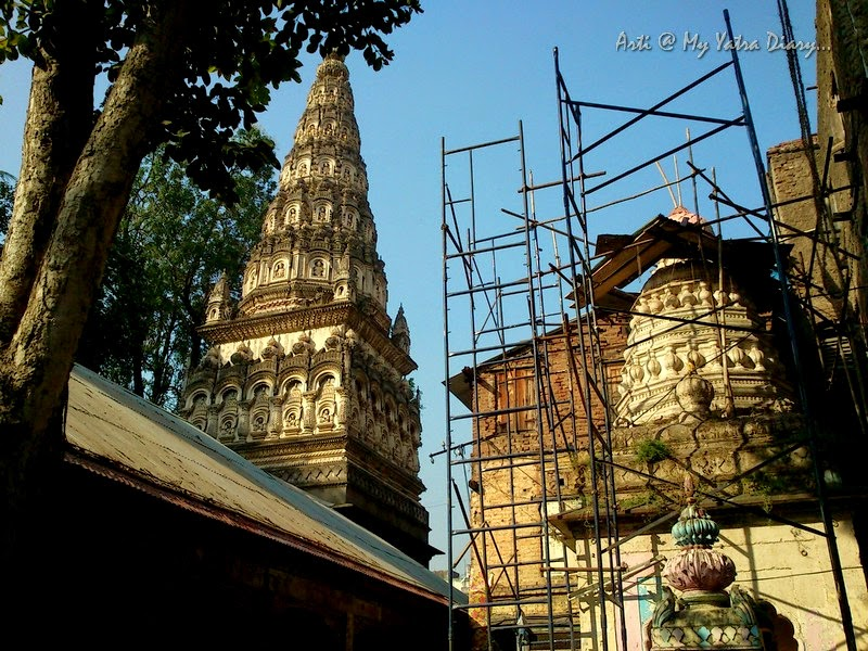 Restoration work of Shree Ram Temple, Tulsibaug, Pune, Maharashtra