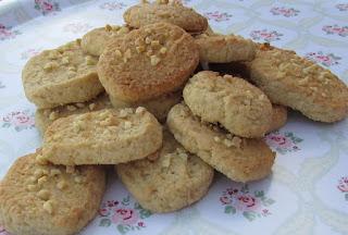 Almendrados, galletas, receta