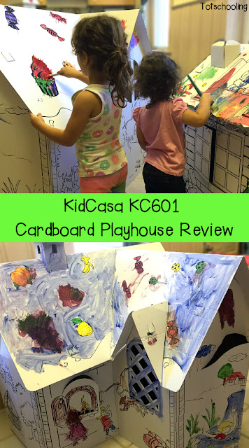 KidCasa KC601 Cardboard Playhouse Review