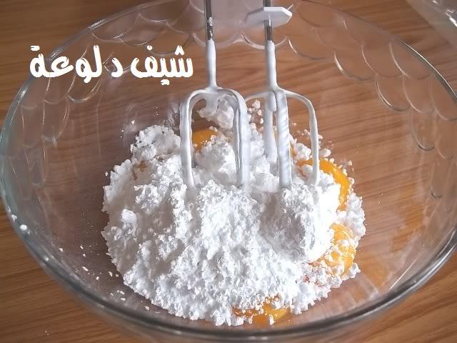 10 الكيكه الاسفنجيه للشيف دلوعه
