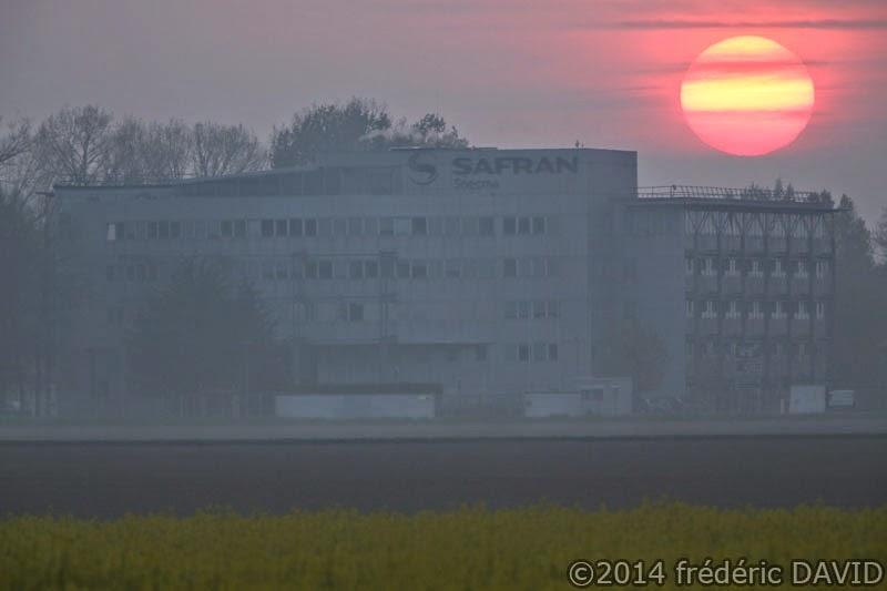 matin aube soleil rose Sénart Seine-et-Marne