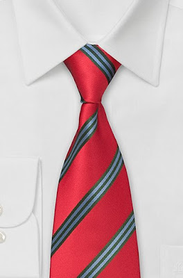 European Rep Striped Necktie