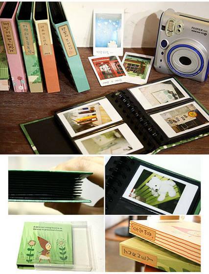 wip blog mini polaroid albums. Black Bedroom Furniture Sets. Home Design Ideas