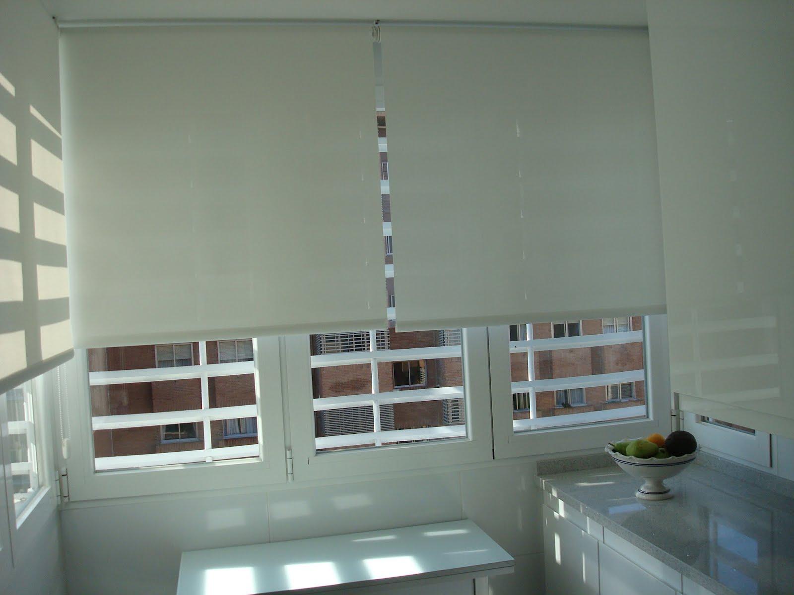 Edyta dise o decoraci n blog de decoraci n estores - Colocar estores enrollables ...