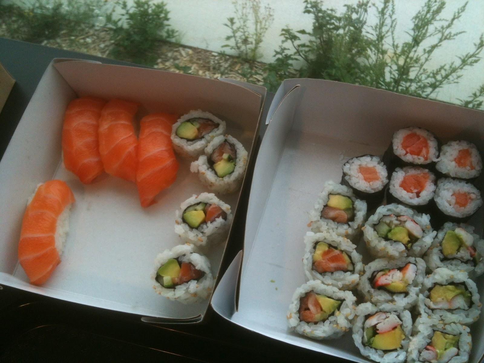 blog d 39 une petite japonaise ta shogun bento nouveau resto sushi saint herblain. Black Bedroom Furniture Sets. Home Design Ideas
