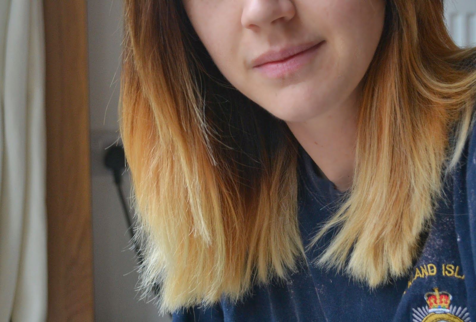 HOW TO TONE ORANGE YELLOW BRASSY HAIR SUNSHINE SAM