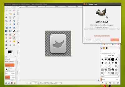 install gimp 2.8.4