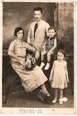 Justina Raibert, Manoel Fernades e filhos