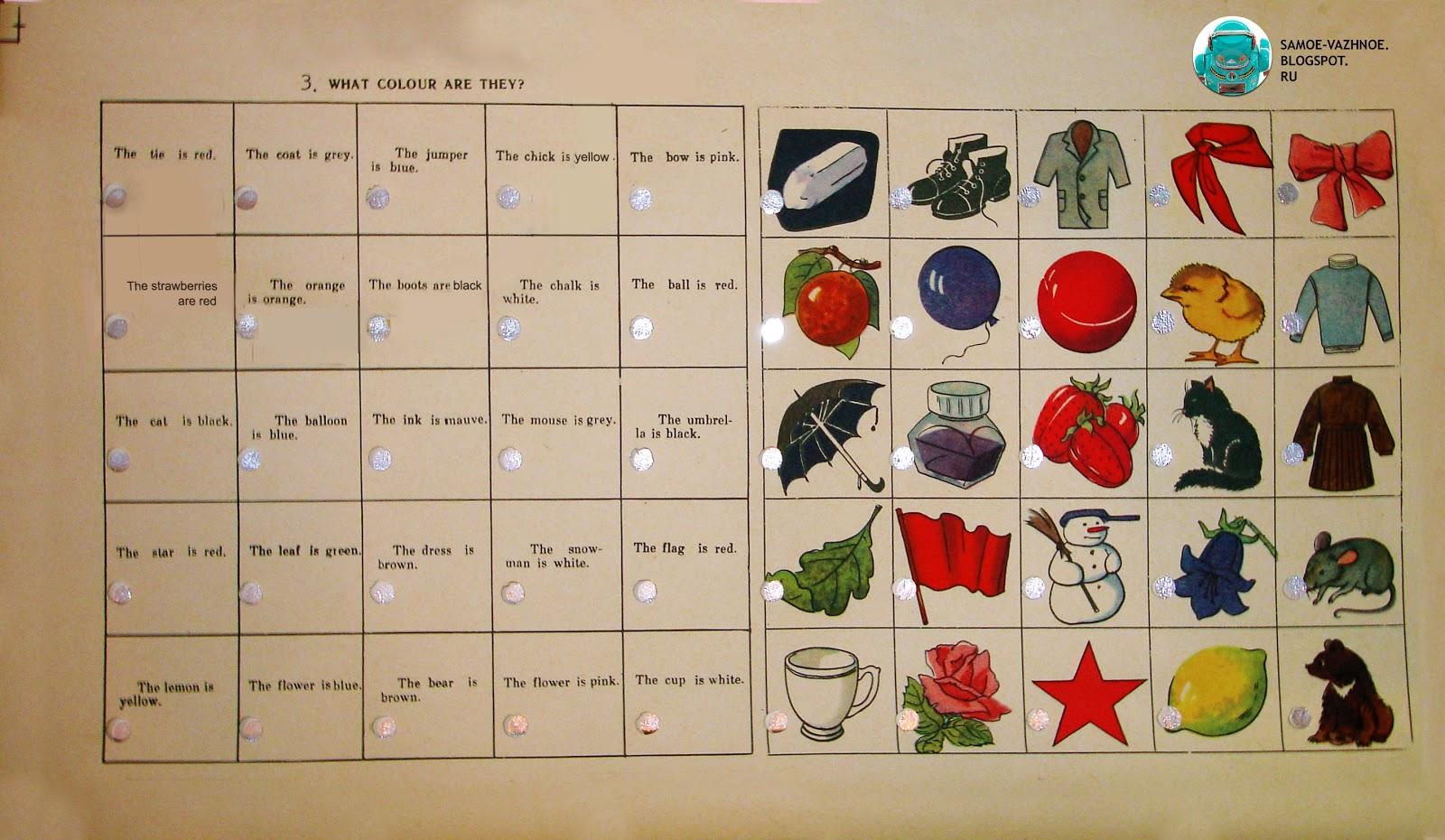 Английский язык темы одежда, еда, фрукты, время, животные
