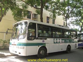Cho thuê xe 35 chỗ tại Hà Nội