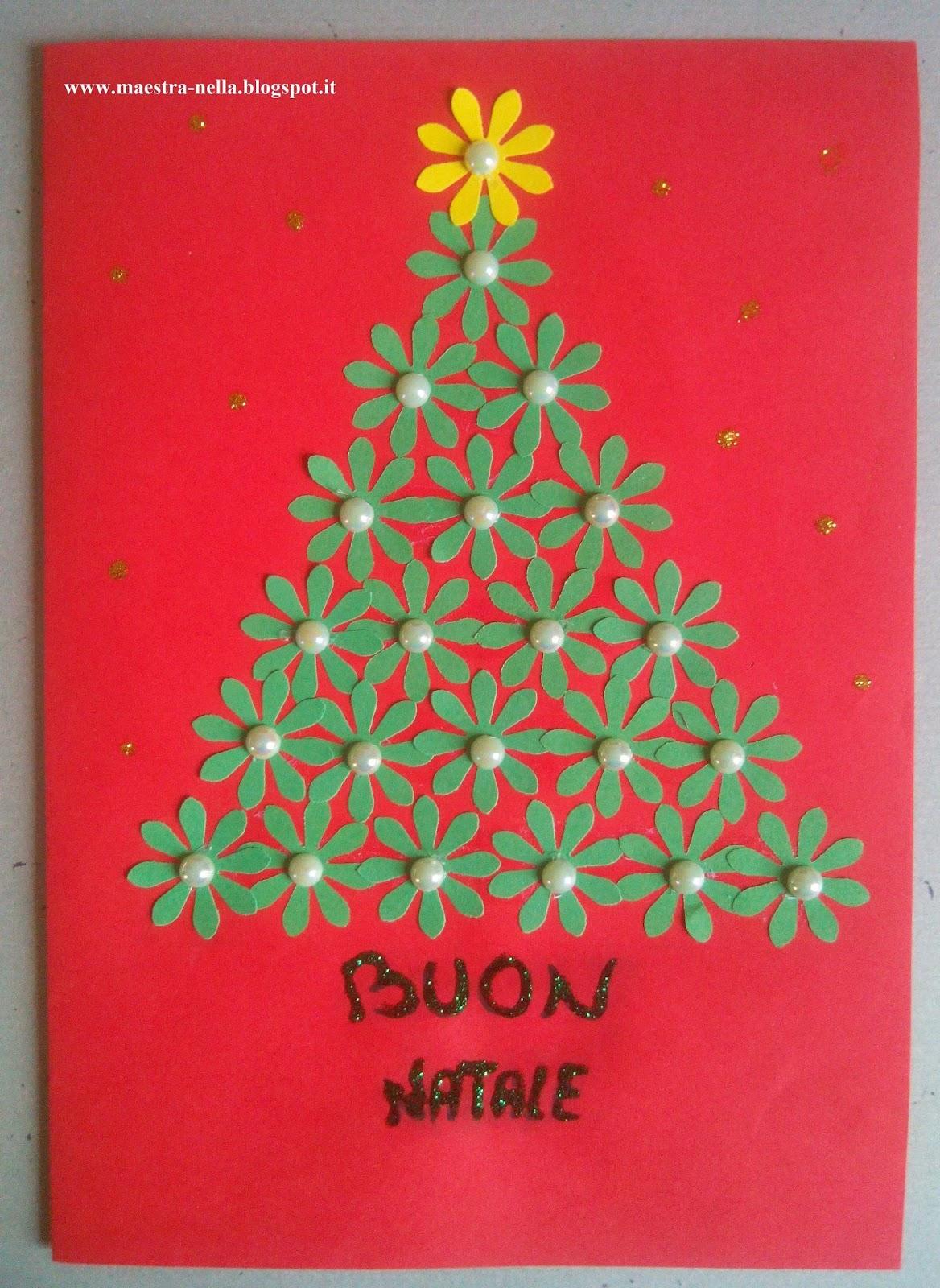Lavoretti Biglietti Di Natale.Maestra Nella Biglietti Di Natale