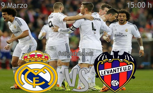 Real Madrid vs Levenate - La Liga - 15:00 h - 09/03/2014