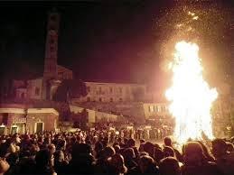 Festa della Giubiana  29 Gennaio Cantù (Co)