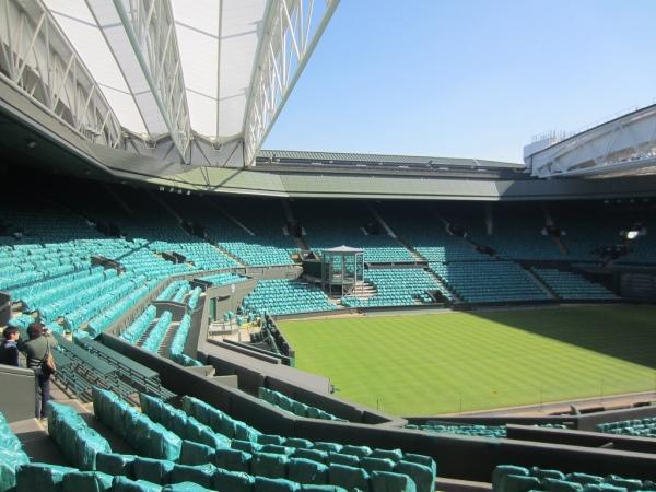 Korty tenisowe w Wimbledonie