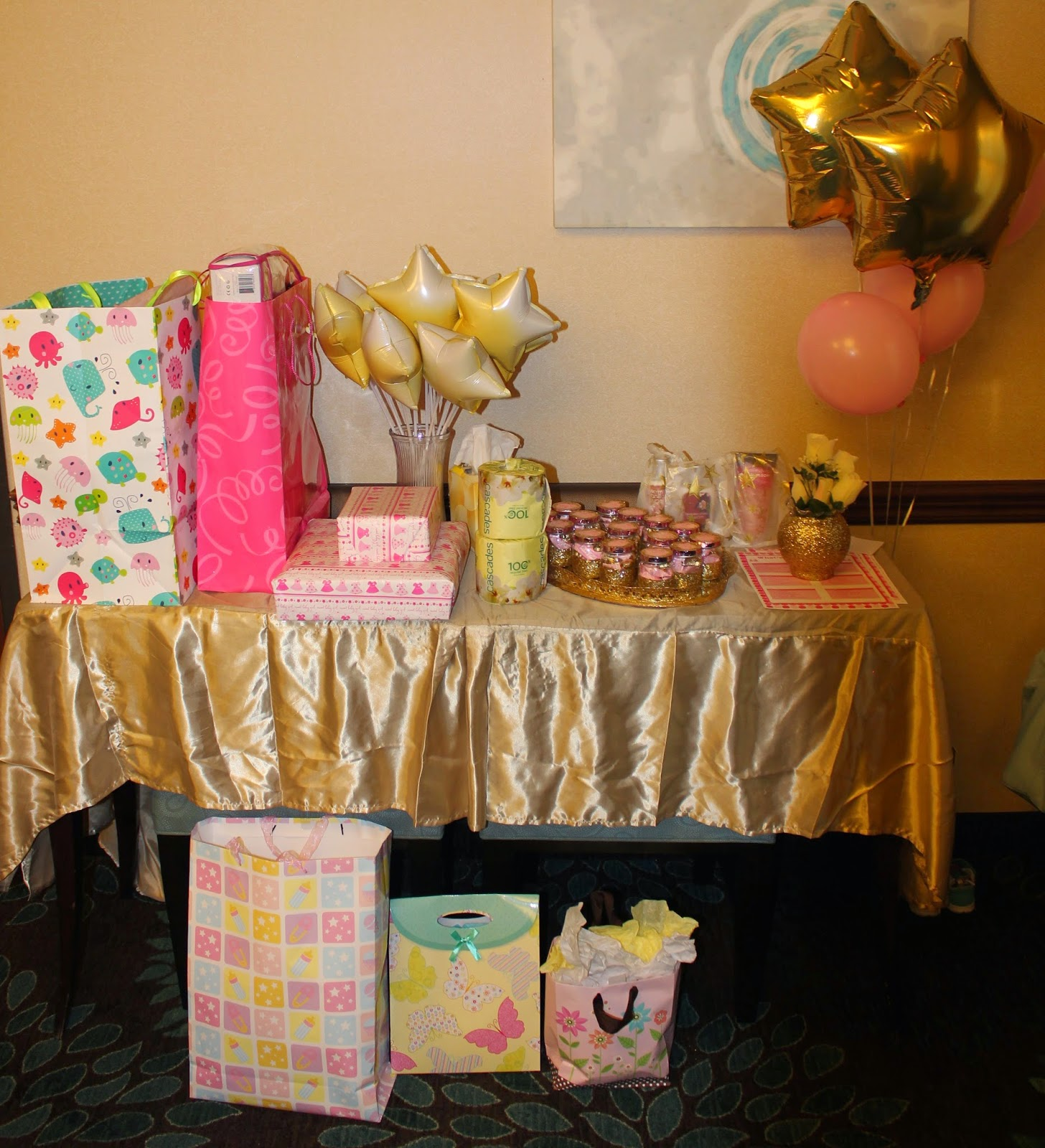 shop craft bake twinkle twinkle little star gold and pink baby shower. Black Bedroom Furniture Sets. Home Design Ideas