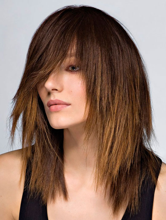 Модные женские стрижки на короткие, средние и длинные волосы 2015 - фото.