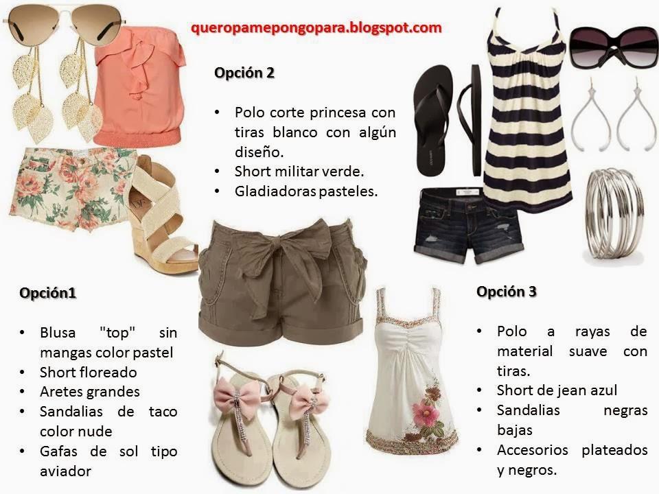 OUTFITS PARA VERANO - Que ropa me pongo para verano - como vestirse para ir a la universidad