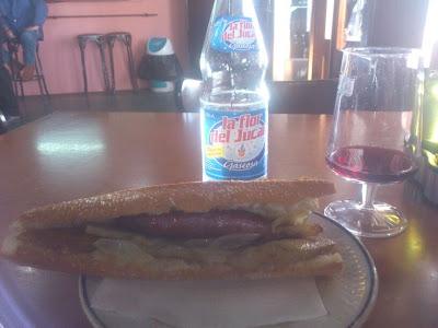 Almuerzos populares: Bocadillo del bar vent de nit de Alboraya