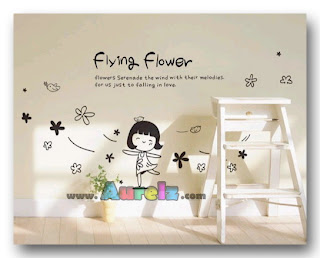 flying flower girl spc 052