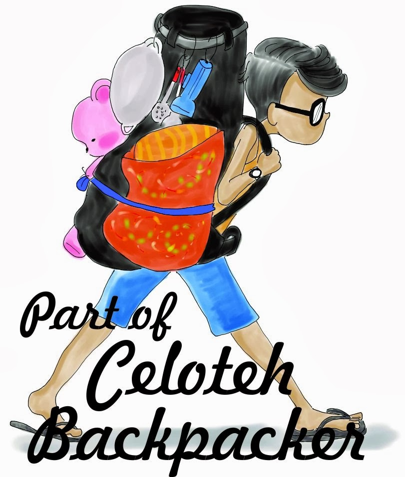 Part of Celoteh Backpacker