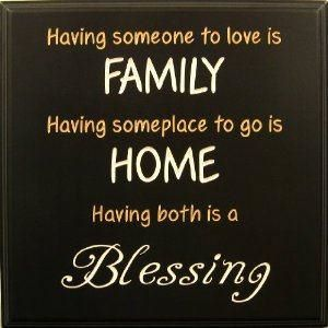 Blessed Quotes About Family